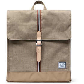 Herschel City Mid-Volume - Sac à dos - 14l beige/marron